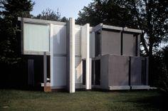 House VI / Peter Eisenman (1972-1975, Cornwall, Connecticut)