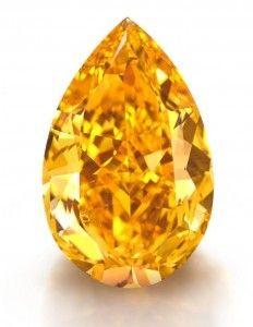 14-Carat Orange Diam