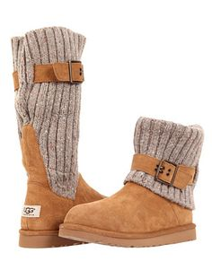 fold-over UGG boots