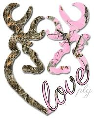 "Image detail for -Country girl:)    I want this as a tattoo on my wrist except the ""girl"" deer will be purple camo"