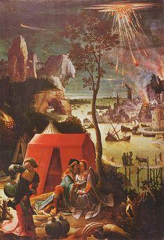 Lucas van Leyden, Daughteres of Lot