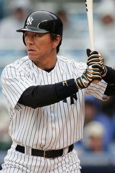 Hideki Matsui. Godzilla retires as a Yankee today. The man was clutch