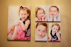 canvas wrapped photos