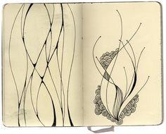 Stephanie Kubo zentangl, art journal, eggs, bugs, doodles, sketchbook, buildings, stephani kubo, design