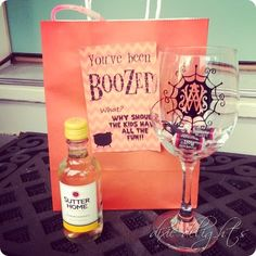 You've been BOOZED  (why should kids have all the fun?)