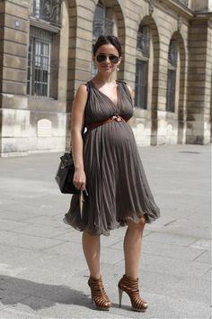 Brown dress and heels<3