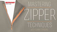 Free Sewing Class: Mastering Zipper Techniques - I Sew Free