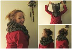 Pollyfoofoo: Sassenach Claire Starz Outlander Cowl Free Pattern