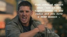 Can't listen to the song without thinking about Dean!