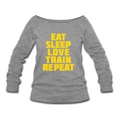 Eat Sleep Womens Jumper ~ 1564