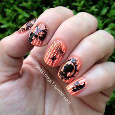 nail nailart, nail awesom, halloween nails