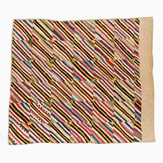 Collections | Mingei. string squares. quilt measures 63 x 67