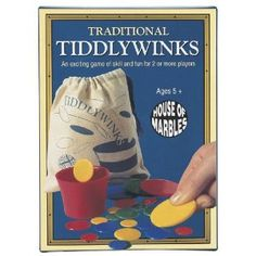 Tiddlywinks - The game began as an adult parlour game in Victorian England. - Harris Bethel