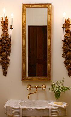 For a small bathroom
