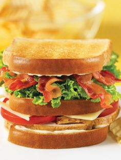 Recipes from The Nest - Classic Club Sandwich