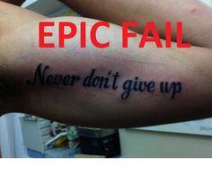 #tattoo FAIL