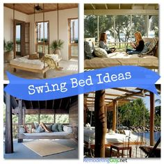 Swing Bed Ideas & Inspiration...I want one! #diy #home