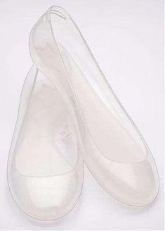 Plastic Flats from Kartell and Normaluisa Channel Disney Heroine #design trendhunter.com
