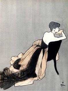 Rene Gruau #Rene Gruau #vintage #fashion #ad