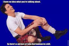 john barrowman kilt
