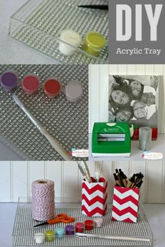 DIY Acrylic Tray - Make your own tray