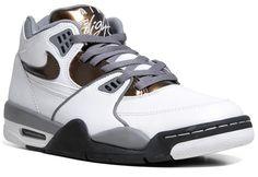 Nike Air Flight 89 – White / Total Crimson – Cool Grey | KicksOnFire