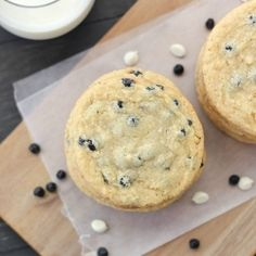 Milk Bar recipe for Blueberry & Cream Cookies