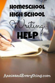 homeschool writing curriculum high school