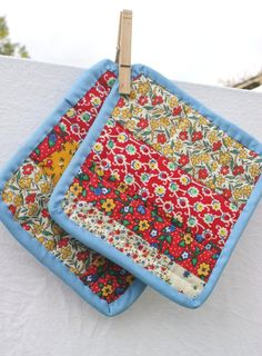 patchwork potholders