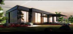 Casas modulares. Casas pré-fabricadas. Construção modular.
