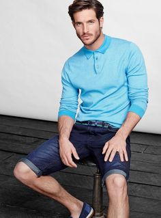 Justice Joslin for Simons' Spring 2014 Look Book #fashion #mensfashion #menswear #mensstyle #style #outfit