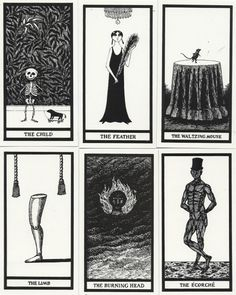 Edward Gorey - The only Tarot cards worth looking at
