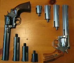 """Dan wesson Firearms, I have the blue steel with 6 and 3"""" barrels in .357"""