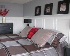 Wainscoting ideas master bedroom