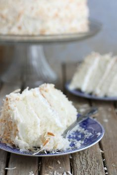 Southern Coconut Cake...I'm thinking making mini bunts of the coconut cake...