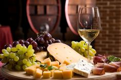 Wine and cheese pairings.  To. die. for.