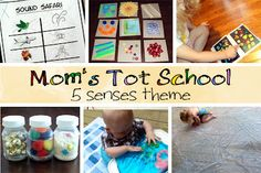 Mom's Tot School: The Five Senses - part one