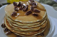Buttermilk Pancakes ~ My family's favorite!
