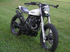 motorcycl, honda, bike, street tracker, rock street