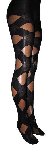 Patterned Fishnet Tights