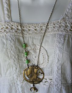 Oh, this is so cool. I want it so bad!  Pirate Queen High Seas Womens Pirate Jewelry by MataHariJewelry, $27.00