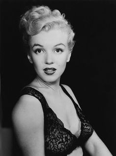 Marilyn Monroe photographed by Ed Clark, 1950.