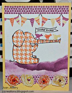 Hooray Elephant. Henry Says & Beyond Plaid