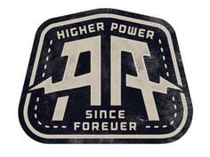 Higher Power Since Forever #logo #design #inspiration