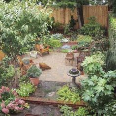 Planting plan for a richly textured urban oasis.   Photo: David Burton   thisoldhouse.com