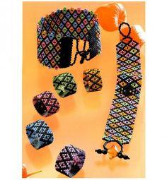 Яркие ремешки из бисера | biser.info - всё о бисере и бисерном творчестве