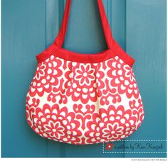 Pleated Penny Bag PDF Sewing Pattern
