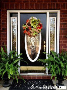 door color, hate, door idea, southern reviv, door decor