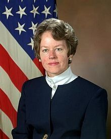 Anita Katherine Jones, Director, U.S. Defense Research and Engineering 1993-1997, Augusta Ada Lovelace Award: ACM 2004, CRA's Service Award, U.S. Air Force Meritorious Civilian Service Award, U.S. Department of Defense Award for Distinguished Public Service. The U.S. Navy has named a seamount in the North Pacific Ocean (51° 25' N and 159° 10' W) for her, Member of the National Academy of Engineering and the Council on Foreign Relations, Fellow IEEE 1997, ACM Fellow 1996