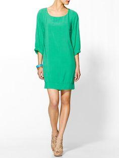 Splendid | 3/4 Sleeve Dress (Clover) $108